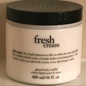 Philosophy Fresh Cream Glazed Body Soufflé